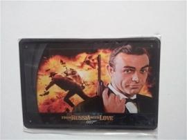 Metaalplaat James Bond: From Russia with Love