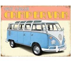 Metaalplaat Volkswagen Campervan