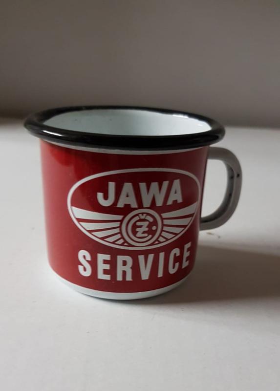 Tas/mok in emaille Jawa