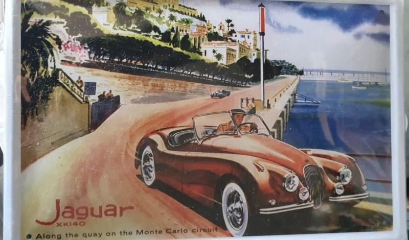 Metaalplaat Jaguar