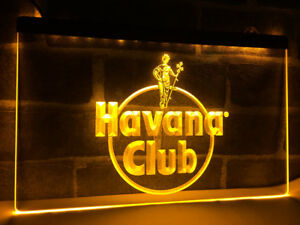 3D ledverlichting Havana Club