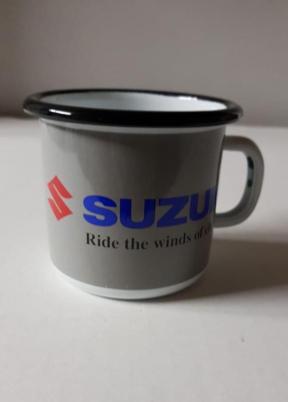Tas/mok in emaille Suzuki