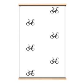 Behang fietjes