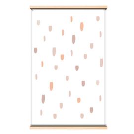 Behang Confetti roze