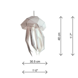 Lantern Jellyfish roze