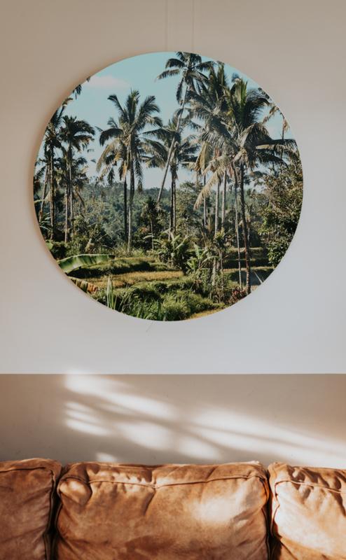Muurcirkel - Ricefields in Bali