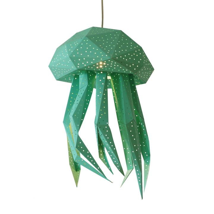 Lantern Jellyfish mintgroen