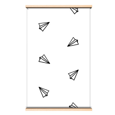 Behang paper planes