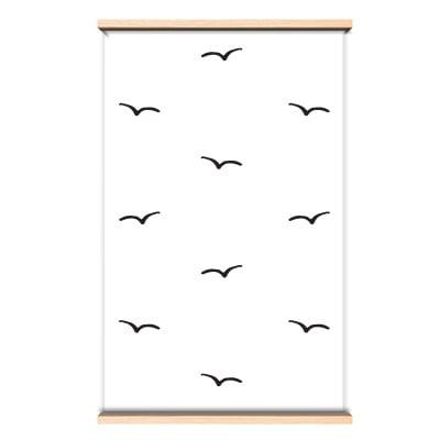 Behang vogeltjes