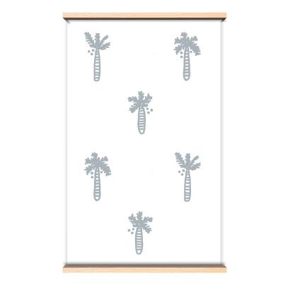 Behang palmboom