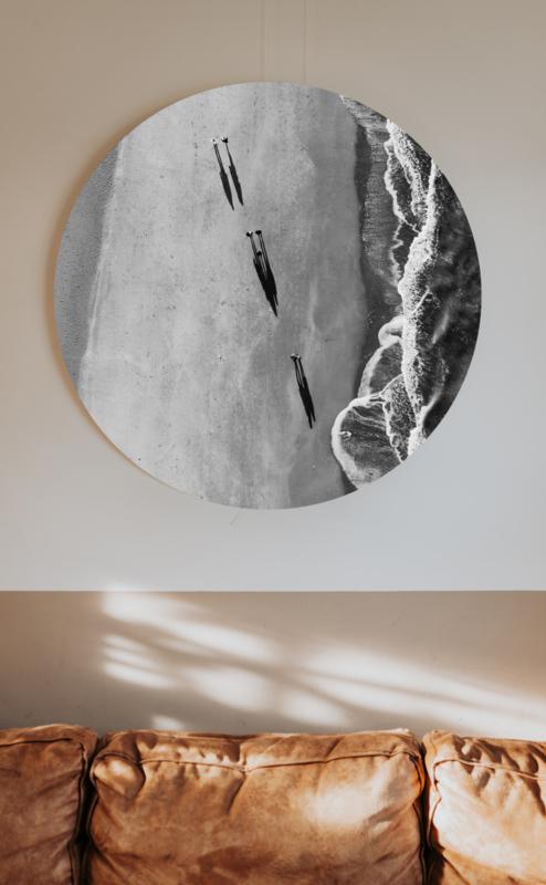 Muurcirkel - Shadows on the beach