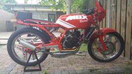 Honda MBX80  uitlaat gegalvaniseerd staal