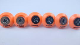 Oranje Motorscherm doppen