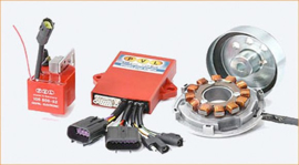 Kreidler PVL Fire 650 ontsteking/Zündung