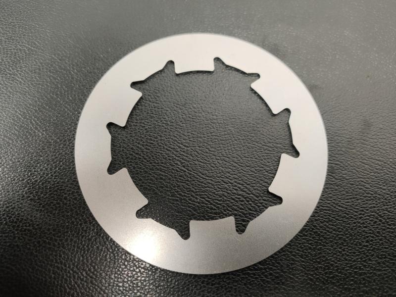 Kreidler koppelingstussenplaat staal model origineel
