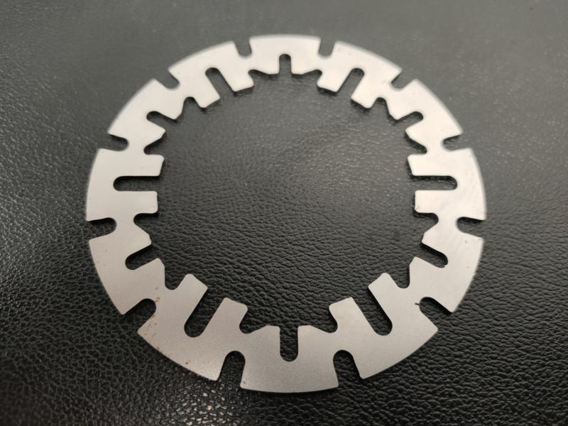 Kreidler koppelingstussenplaat staal model Cross/Race