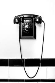Telefoon - Zwart en Wit
