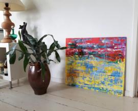 Abstract - Confetti 70cm x 60cm