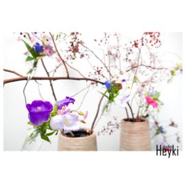 Bloemen - Kleurig - XL