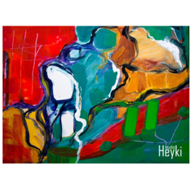 Abstract -  Ommekeer - Due - Karin Heystee