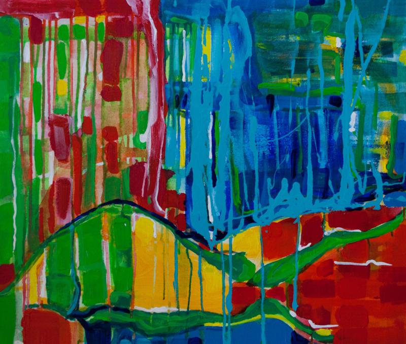 Abstract - Slingers - Karin Heystee
