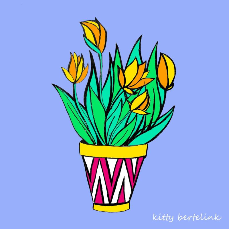 Tulp - Kitty Bertelink