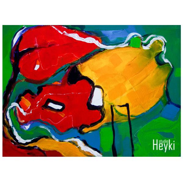 Abstract - Ommekeer - Tre - Karin Heystee