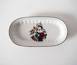 Seltmann Weiden Bavaria porceleinen roomstel vogel en bloem