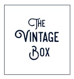 The Vintage Box | Vintage kunst en woonaccessoires