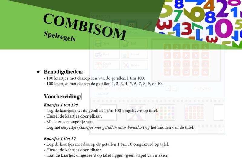 Rekenspel COMBISOM