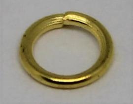 Jumpring Ø 5mm goudkleur per 20 stuks
