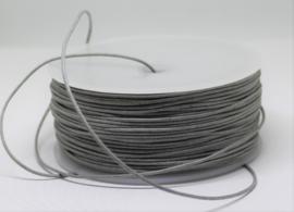 Waxkoord katoen 1 mm stone grey