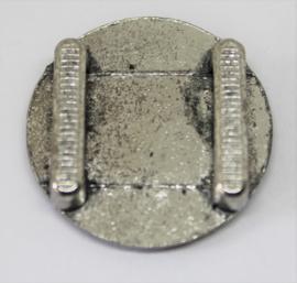 Cabuchon schuiver stainless steel Ø 23mm