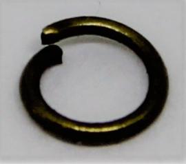 Jumpring Ø 5mm bronskleur per 20 stuks