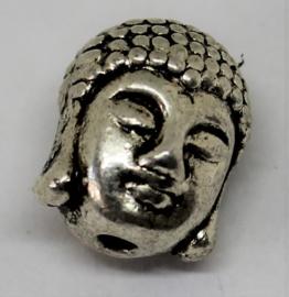 Kraal Budda hoofd stainless steel Ø10mm