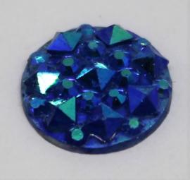 Plaksteen Blauw Ø 10mm