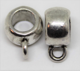 Kraal met oog voor koord stainless steel Ø8mm