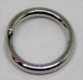 Jumpring Ø 8mm zilverkleur per 10 stuks