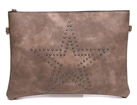 Festival tas Star Studs Brown