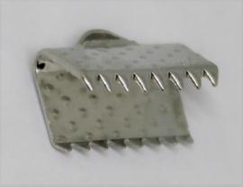 Veterklem zilver 8x10mm