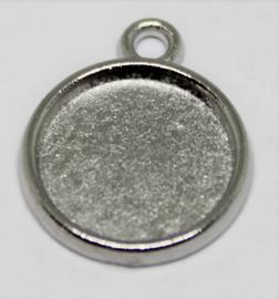 Setting hanger Ø 12mm antiek zilver