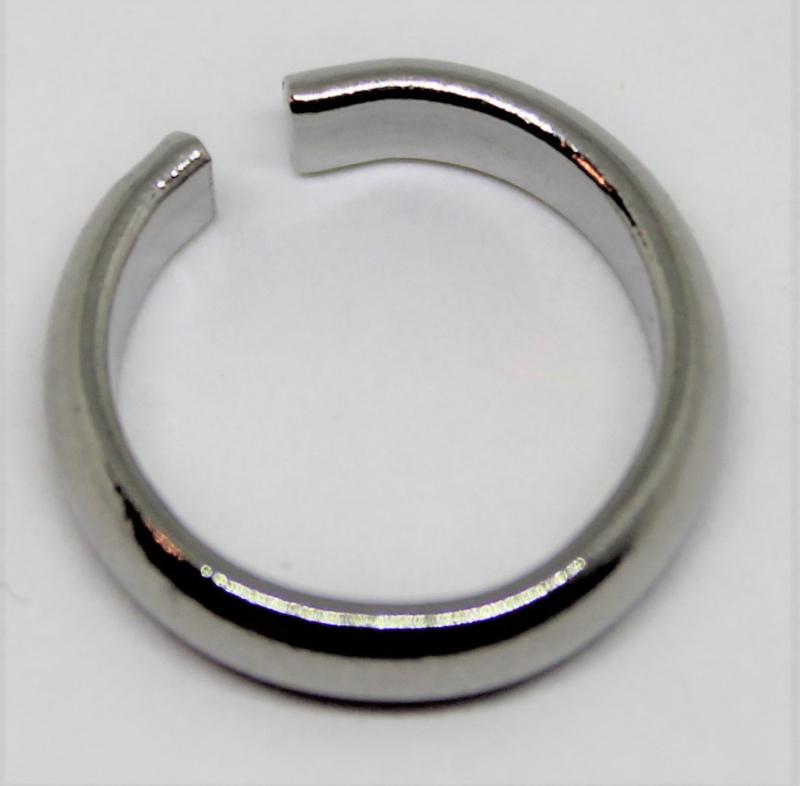 Jumpring stainless steel Ø 13mm