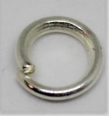 Jumpring Ø 4mm zilver kleur per 10 stuks