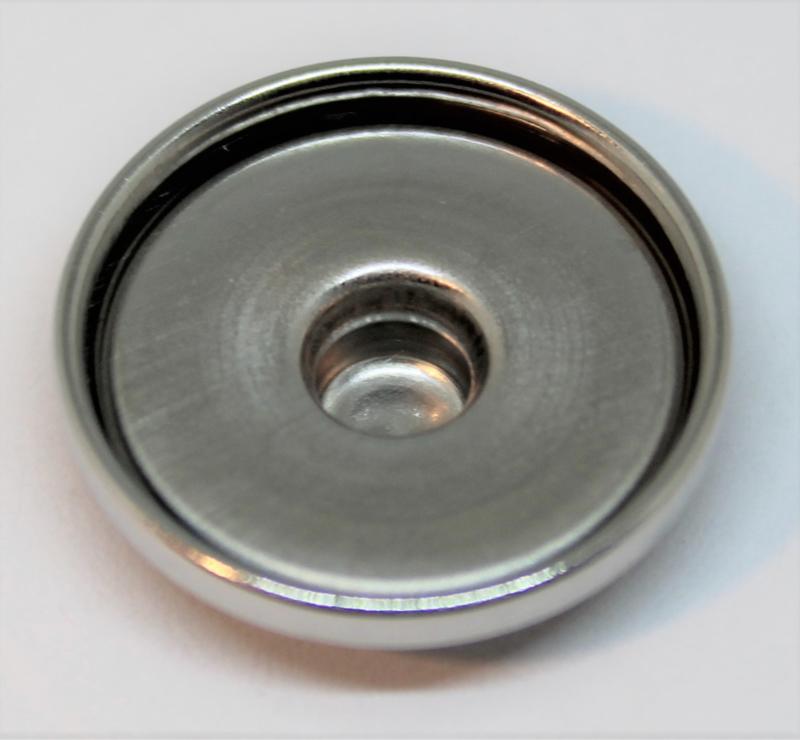 Drukker stainless steel Ø 20mm
