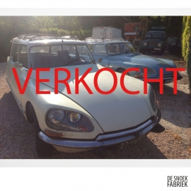 Citroen DS break 1974 (verkocht! )