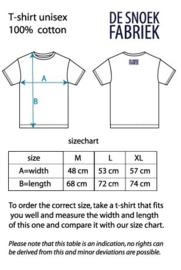 T-shirt schakelpatroon switching pattern