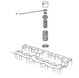 Klepstelplaatjes / shims XU motoren 15, 16 en 19 motoren (en diesels)