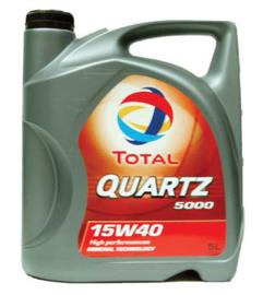 Motorolie Total 15W40 5 liter
