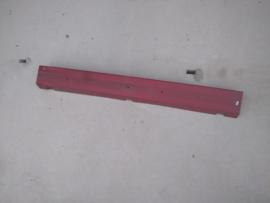 Bumper BX break rood laatste types (deel op de kofferklep)