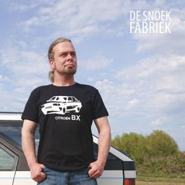 T-shirt bx voiture silhouette